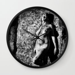 The Horror Girl by MB Wall Clock