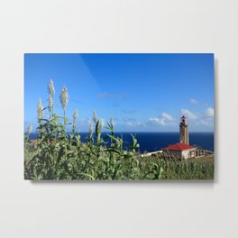 Ponta Garça lighthouse Metal Print