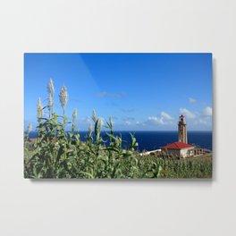 Ponta Garça lighthouse Metal Print