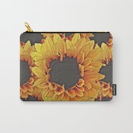 Sunflower Collaboration Carry-All Pouch