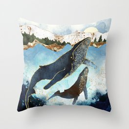 Bond V Throw Pillow