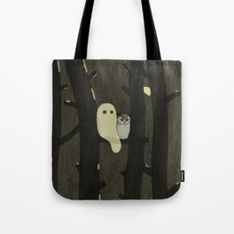 Little Ghost & Owl Tote Bag