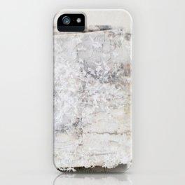 Winter Birch Ribbon iPhone Case