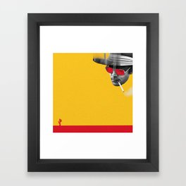 Hunter S. Thompson Framed Art Print