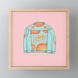 Be Good to Eachother Framed Mini Art Print