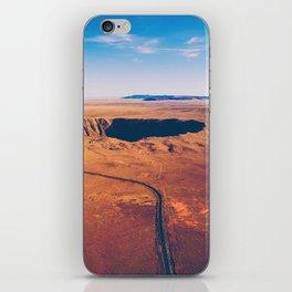 Crater vulcano iPhone Skin