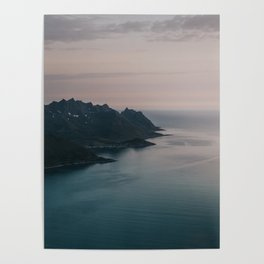 Fjord - Landscape and Nature Photography Poster