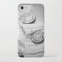 cassandra jean iPhone & iPod Cases featuring jean by McKenzie Nickolas