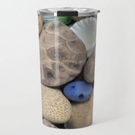Petoskey Stones Travel Mug