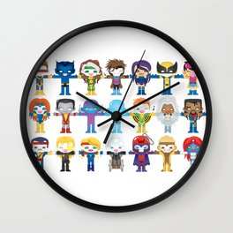 90's 'X-men' Robotics Wall Clock