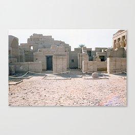 Temple of Dendera, no. 1 Canvas Print