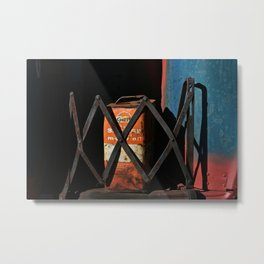 Gas Can Metal Print