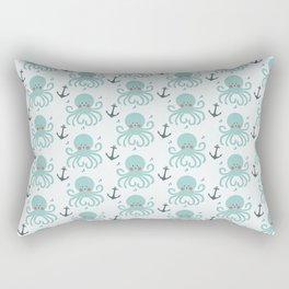 Squid Pattern Rectangular Pillow
