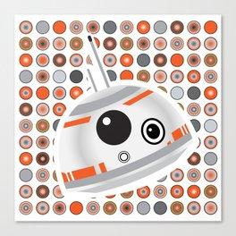 BB-8 droid Canvas Print