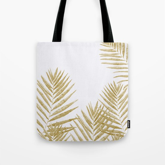 Fern Golden Tote Bag