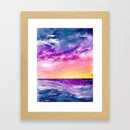 Tormenta Framed Art Print