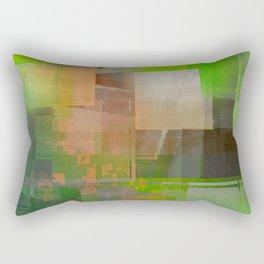 thinkin' of spring Rectangular Pillow