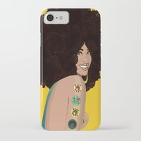 erykah badu iPhone & iPod Cases featuring Erykah Badu Vector by The Augustus Lioness