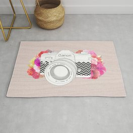 BLOOMING CAN0N Rug