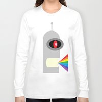 bender Long Sleeve T-shirts featuring Odd Bender by Taylor Hedrick