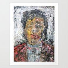 Liu Yiqian (oil on canvas) Art Print