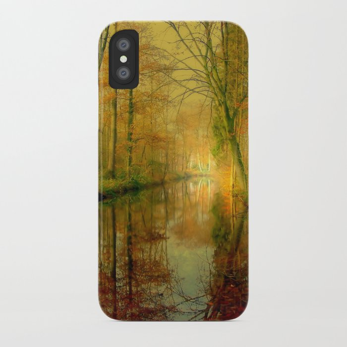 Forest Lake iPhone Case