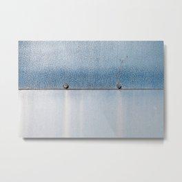 Blue over Blue 02 Metal Print