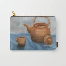 Still life of a coffee pan Carry-All Pouch