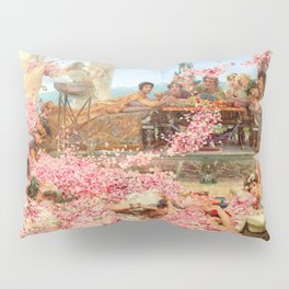 The Roses of Heliogabalus by Sir Lawrence Alma-Tadema Pillow Sham