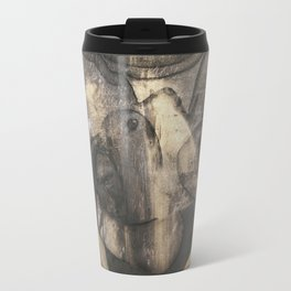 Women who run with wolves II. Bonewoman Travel Mug