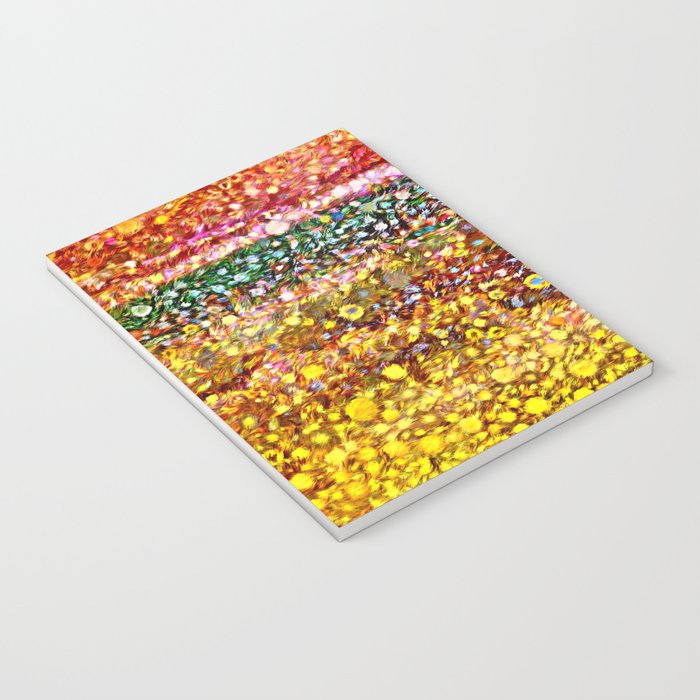 Sunny Flower Fields Notebook