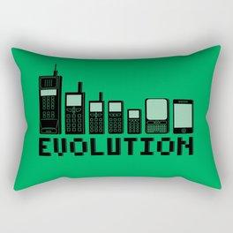 Cell Phone Evolution Rectangular Pillow