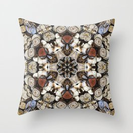 Pieces of Time Throw Pillow