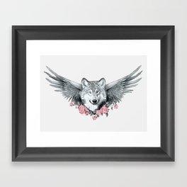 Wolf 3 Framed Art Print