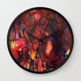 Mouth Music Wall Clock