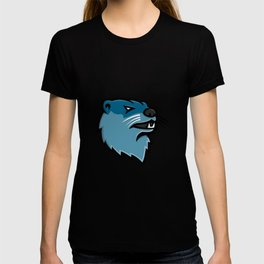 River Otter Head Mascot T-shirt