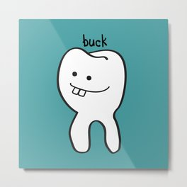 Buck Teeth Metal Print