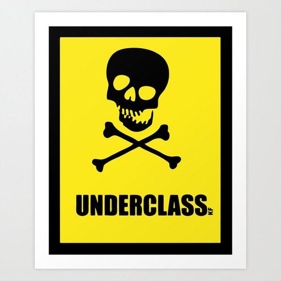 Underclass Art Print