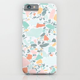 Modern Pastel Terrazzo / Ice Cream Palette iPhone Case