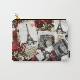 Postcards from Paris Carry-All Pouch
