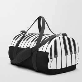 Ebony & Ivory Duffle Bag