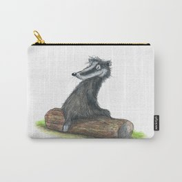 Badgers Date Carry-All Pouch