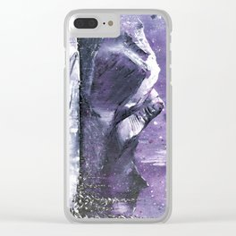 Off The Beaten Track II Clear iPhone Case