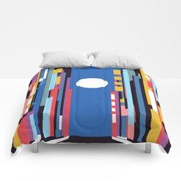 City lights Comforters