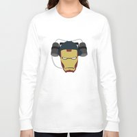 house stark Long Sleeve T-shirts featuring Stark Industries by Imagemagnet