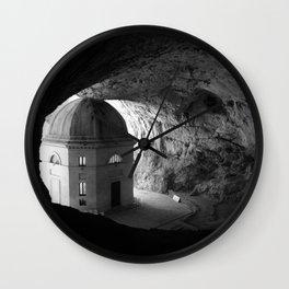 Wedged Wall Clock