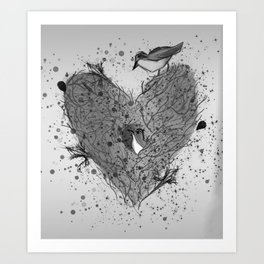 Home Is Where The Heart Is 2 Art Print