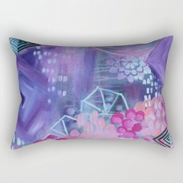 Dream in Purple Rectangular Pillow