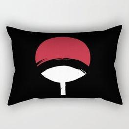 Uchiha Clan Symbol Rectangular Pillow