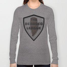 The Bearded League Long Sleeve T-shirt